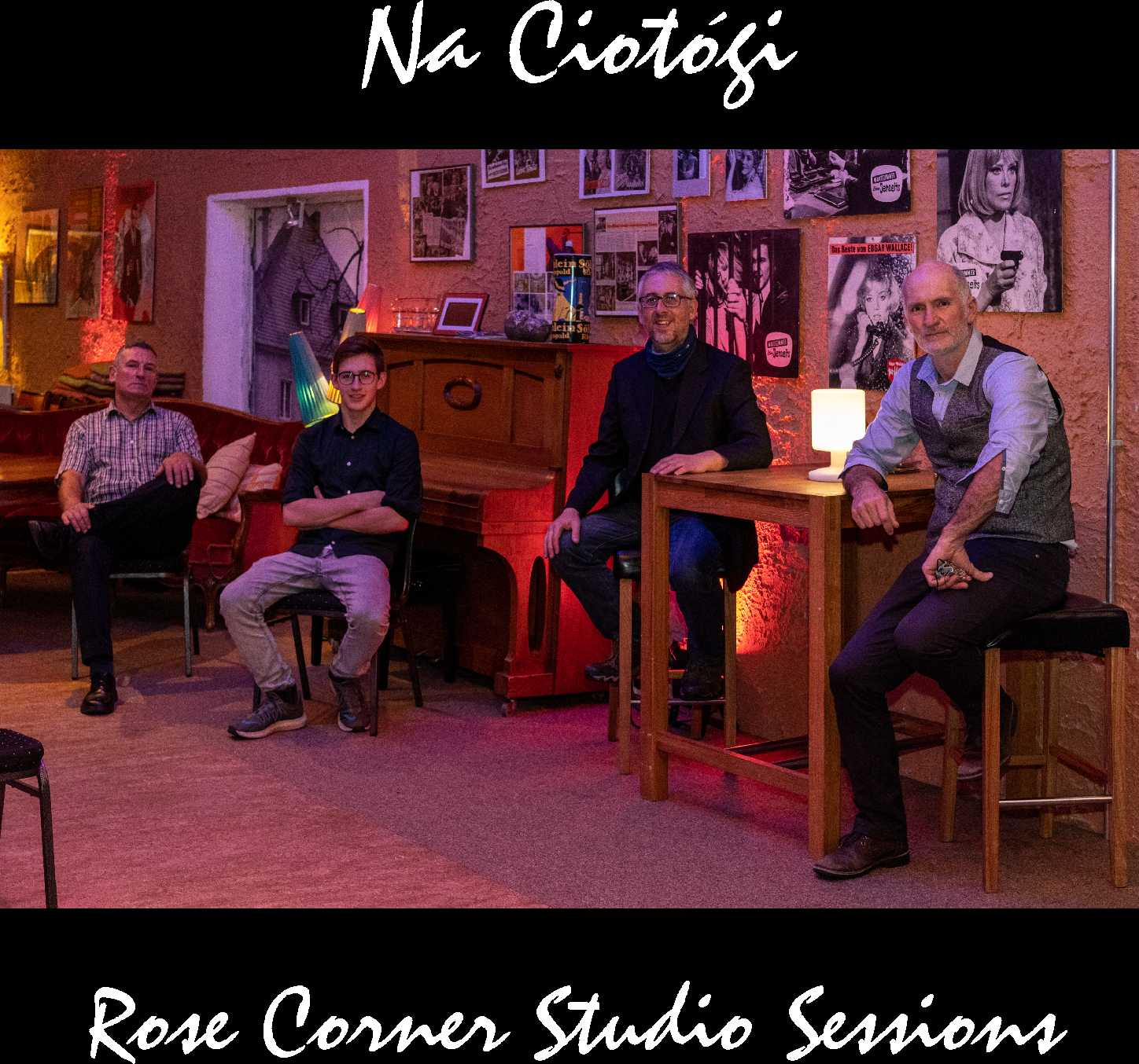 Rose Corner Studio Session 2020 CD & Digital Download & Online Gig of CD Launch available from 03.04.21